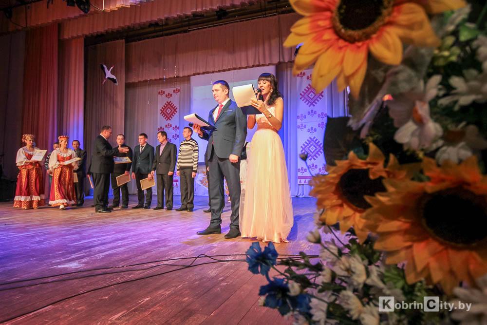 Кобринские аграрии получили заслуженные награды к празднику